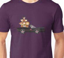 Batfamily on a Road Trip Unisex T-Shirt
