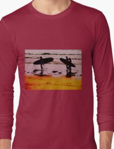 A Day of Surfing Long Sleeve T-Shirt