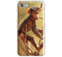 Caught in the Act iPhone Case/Skin