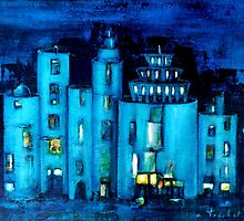 blue castle by agnès trachet