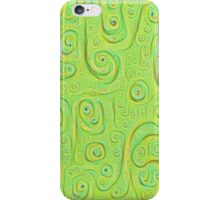 Deep Dreaming of a Green World 4K iPhone Case/Skin