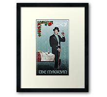 Tarot: The Magician (I) Framed Print
