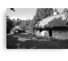 """Village Canvas Print"