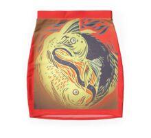 Pisces - unravelled Mini Skirt