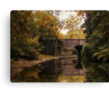 Autumn Mirror Canvas Print