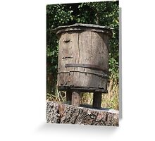 trunk beehive Greeting Card
