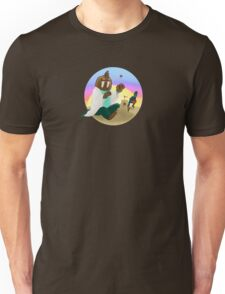 Trottimus on the Beach Unisex T-Shirt