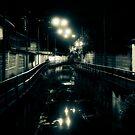 Night over a klong by Laurent Hunziker