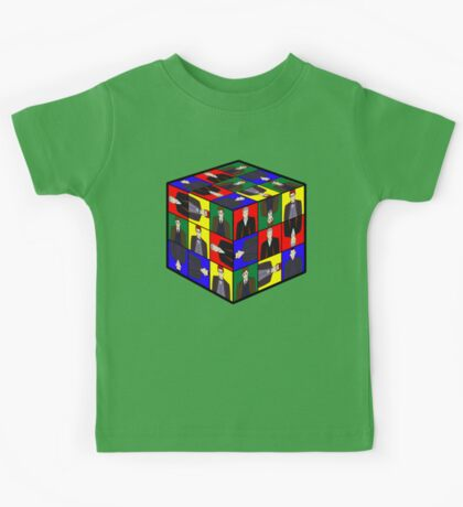 The Doctor's Cube Kids Tee