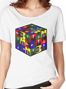 The Doctor's Cube Women's Relaxed Fit T-Shirt