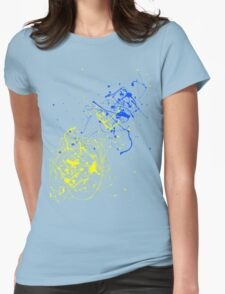 Splat Womens Fitted T-Shirt