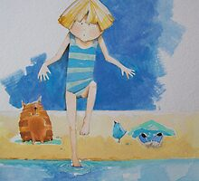 Minnies Day at The Seaside. by Wendy Taylor
