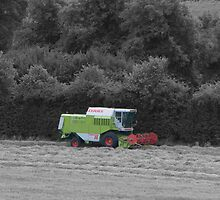 Combine Harvester by Matthew Duffy