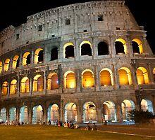 Colosseum at night by Antonio Paliotta