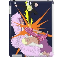 one piece black leg sanji doflamingo anime manga shirt iPad Case/Skin