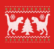 Funny Ugly T-REX Christmas Kids Clothes