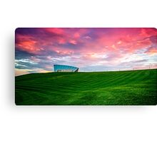 Sunset Over Arboretum Canvas Print