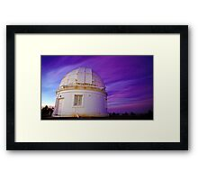The Dome Of Stars Framed Print