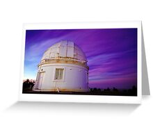 The Dome Of Stars Greeting Card