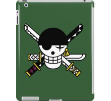 one piece straw hat roronoa zoro anime manga shirt iPad Case/Skin