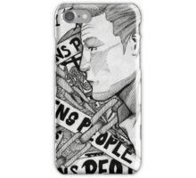 Time Ruins People iPhone Case/Skin