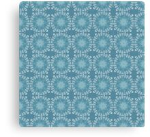 Snowing in the Garden Canvas Print