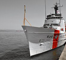 Coast Guard Cutter Alert by Bob Hortman