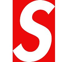 "Sup ""S"" (W) Photographic Print"