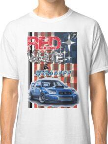 Red White & Brappp : STi Classic T-Shirt