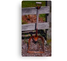 Shovel Canvas Print