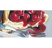 Cheesecake Photographic Print
