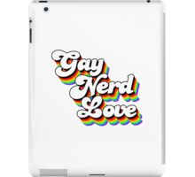 Gay Nerd Love: Afternoon Delight iPad Case/Skin