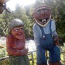 Norway trolls by Bernat Comes