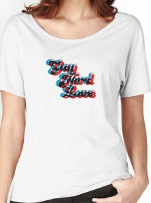 Gay Nerd Love: 3D Women's Relaxed Fit T-Shirt