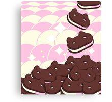 Cookie Cat Canvas Print