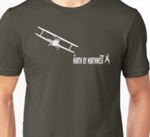 North by Northwest (white) Unisex T-Shirt