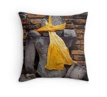 Buddha Remains Throw Pillow