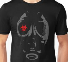 Biohazard Gas Mask Unisex T-Shirt