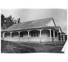 Old Verandah  Lodge Poster