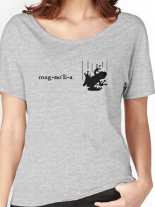 Magnolia's Frog (black) Women's Relaxed Fit T-Shirt