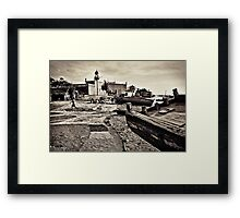 Ilha's Mosque Framed Print