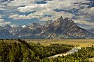 The Snake River Overlook by Joe Elliott
