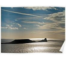 Worm's Head, Rhossili Poster