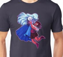 Ruby and Sapphire - Gem Glow Unisex T-Shirt