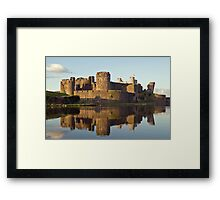 Caerphilly Reflections Framed Print