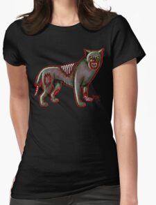Canis Zombis Lupis Womens Fitted T-Shirt