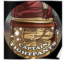 Captain Tightpants Poster