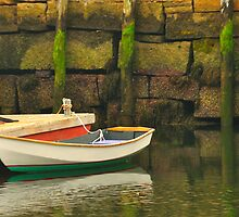 Boat, Camden Harbor, Maine by fauselr