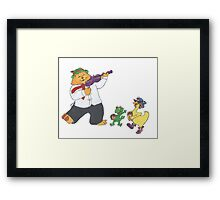 Salt Peanuts Parade Framed Print