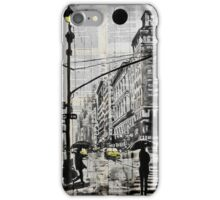 one day in N.Y. iPhone Case/Skin